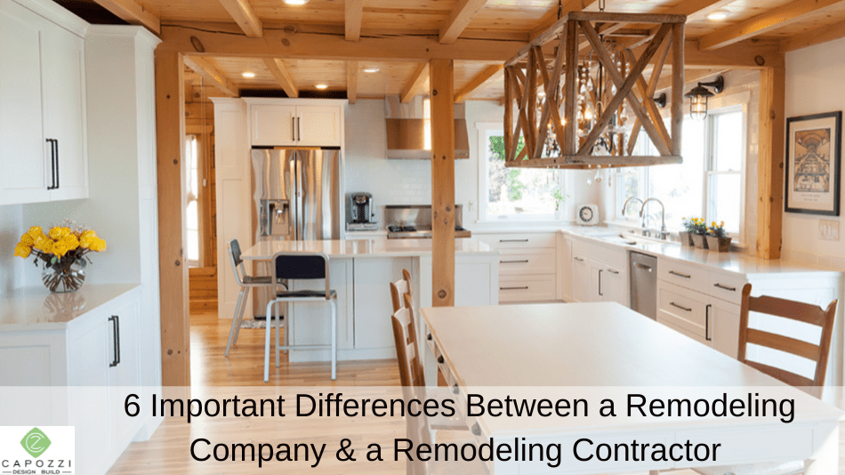6 Important Differences Between a Remodeling Company and a Remodeling Contractor in NE Ohio