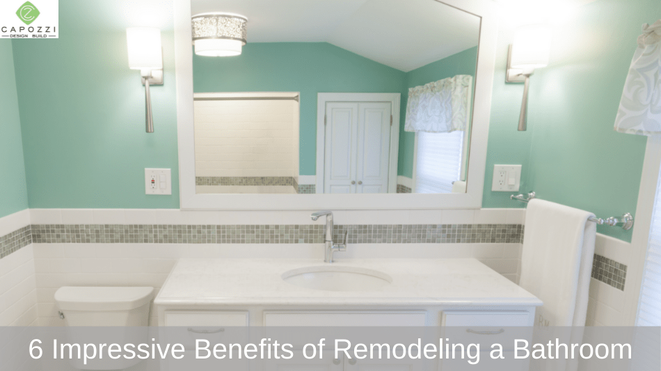 6 Impressive Benefits of Remodeling a Bathroom with Bathroom Remodel Services